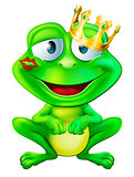 Kissed frog prince