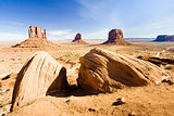 The Mittens and Merrick Butte, Monument Valley National Park, Ut