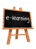 e-learning on blackboard