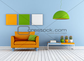 Colorful lounge