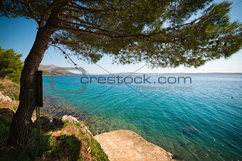Seashore in Croatia