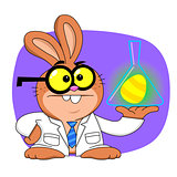 Easter bunny scientist