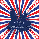 4th of July celebration background
