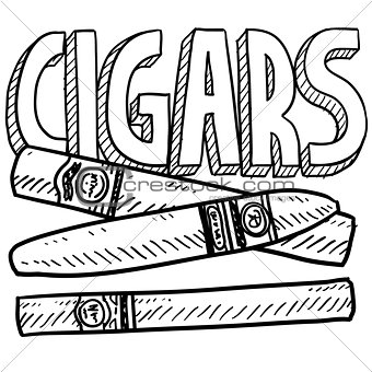 Cigars sketch