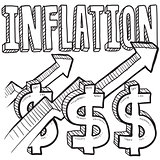Inflation increasing sketch