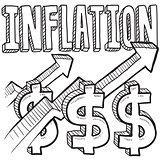 Inflation increasing sketch