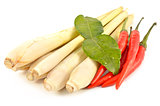 Lemongrass, chilli and kaffir lime