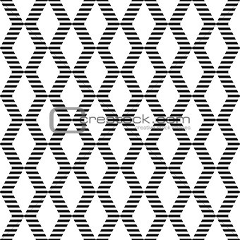 Seamless geometric zigzags and diamonds pattern.
