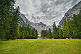 Triglav - the highest mountain of Julian Alps