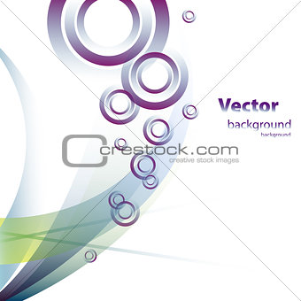 beautiful abstract vector eps10 design art