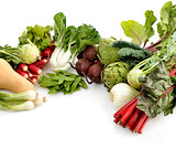 Fresh Vegetables Arrangement
