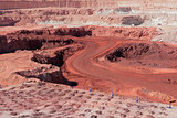 Iron ore mining