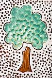 Handmade ceramic tree