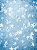 holiday background with stars