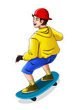 Skateboarder
