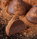 Chocolate truffle.