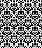 Seamless background in retro damask style