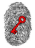 Fingerprint and key