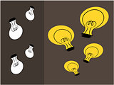 Think idea illustration