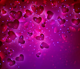 Valentines Hearts background