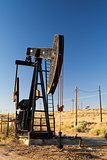 Oil field in desert