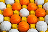 Golf balls 