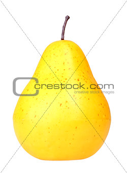 Fresh yellow pear