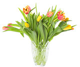 Vase with tulips