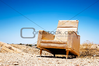 old chair outdoor