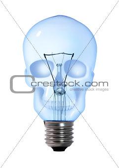 skull tungsten light bulb lamp