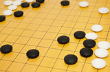 Scene from game of go