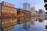 Marunouchi district of Tokyo