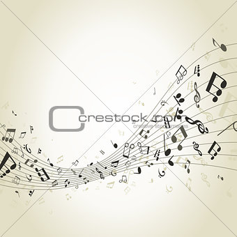 Abstract music4
