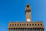 Palazzo Vecchio and Piazza della Signoria in Florence, Italy