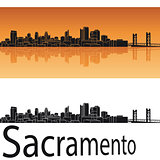 Sacramento skyline