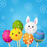 Happy Easter Color Card