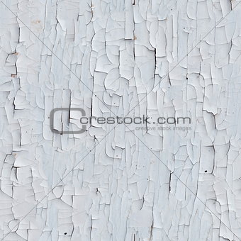 Grey Cracked Paint Seamless Texture.