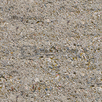 Grey Plastered Wall Seamless Texture.
