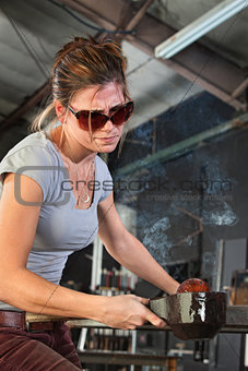 Working with Hot Glass
