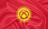Flag of Kyrgyzstan