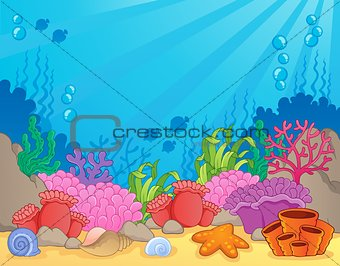 Coral reef theme image 4