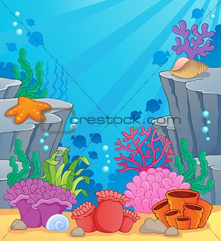 Image with undersea topic 3