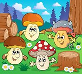 Mushroom theme image 3