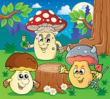 Mushroom theme image 6