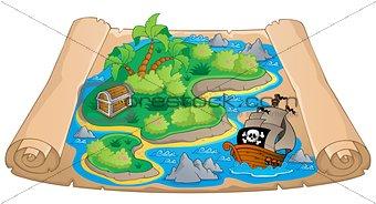 Treasure map theme image 4