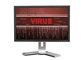 Computer with virus