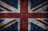 Grunge UK national flag