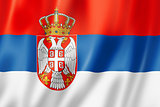 Serbian flag