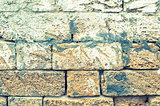 Old Wall. Tinted Background.