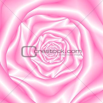 Pale Pink Spiral Rose